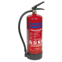 Fire Extinguisher 6kg Dry Powder