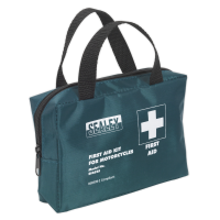 First Aid Kit Small for Mopeds & Motorcycles - BS 8599-2 Compliant
