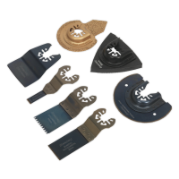 Multi-Tool All-Purpose Blade Set 7pc
