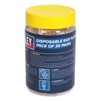 Ear Plugs Disposable Pack of 30 Pairs