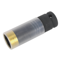 Alloy Wheel Ultra-Power Impact Socket 19mm 1/2