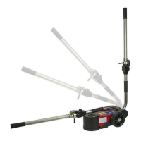 Air Operated Folding Jack 15-30tonne - Telescopic