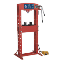 Air/Hydraulic Press 30tonne Floor Type with Foot Pedal